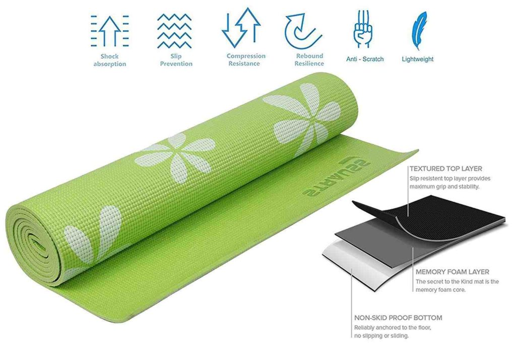 Best Yoga Mats in India 2019