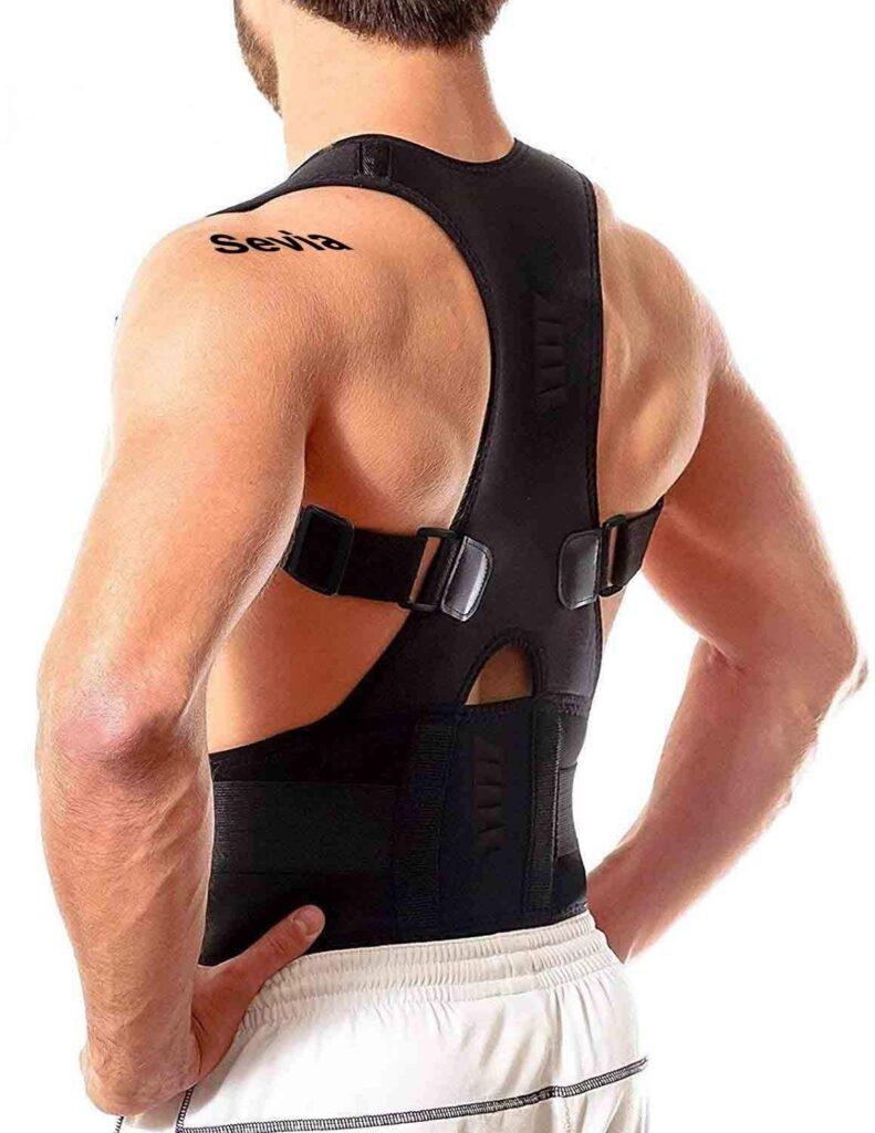 Sevia - Posture Corrector Belt Back Brace Pain