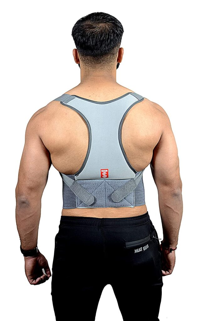 TADDY - Best Posture Corrector Belt in India for Lower and Upper Back Pain