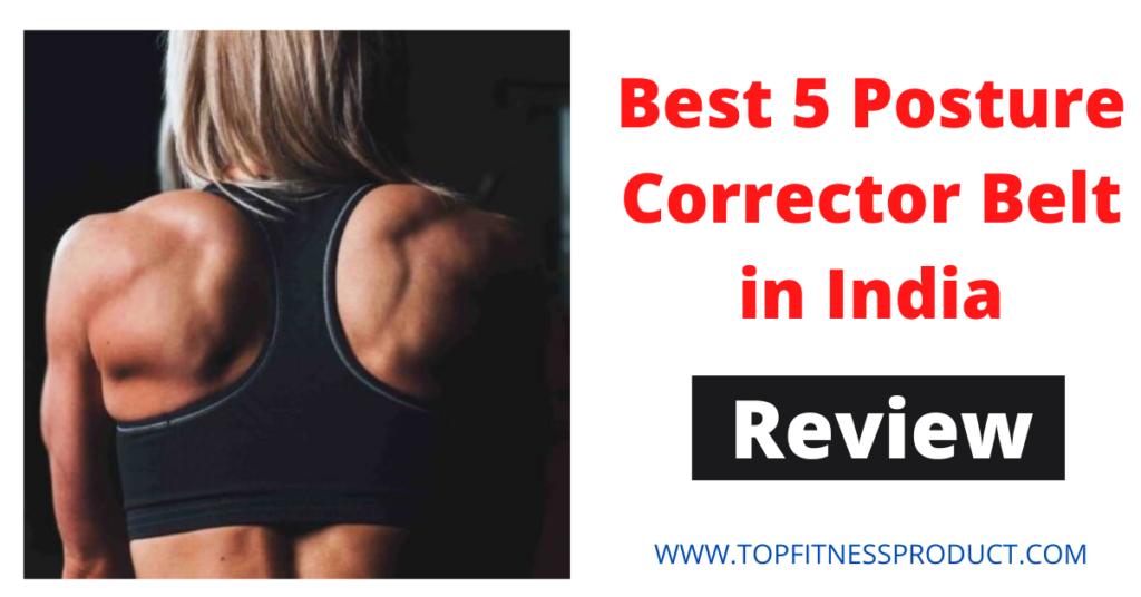 Best5 Posture Corrector Belt in India